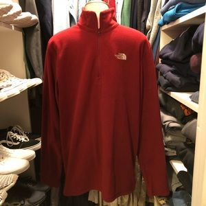 Men's North Face 1/4 Zip